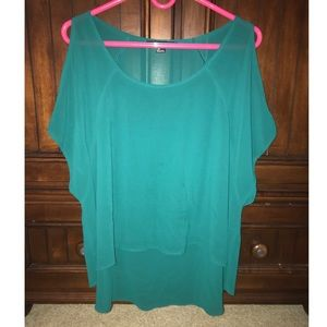 Forever 21 Cold Shoulder Top
